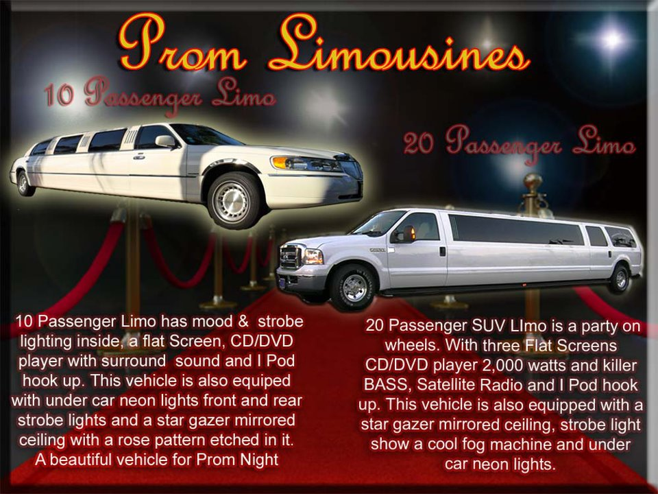 Palm Coast and Daytona Beach Prom Limos