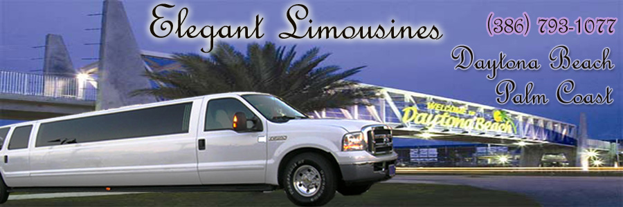 Elegant Limousines Palm Coast & Daytona Beach Limo Service (386) 793-1077